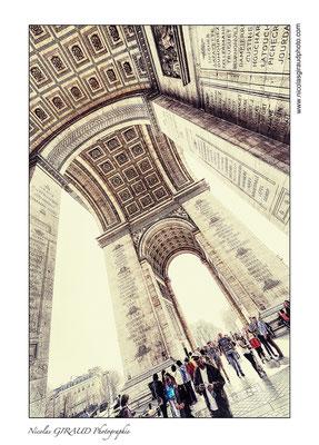 Paris Arc de Triomphe © Nicolas GIRAUD