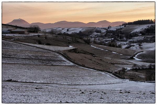 Lever Monts Dômes - P.N.R. des Monts Auvergne © Nicolas GIRAUD
