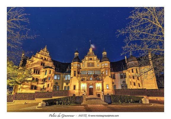 Palais du Gouverneur - Metz © Nicolas GIRAUD