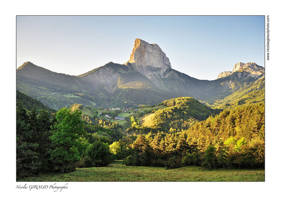 Mont aiguille - Trièves © Nicolas GIRAUD
