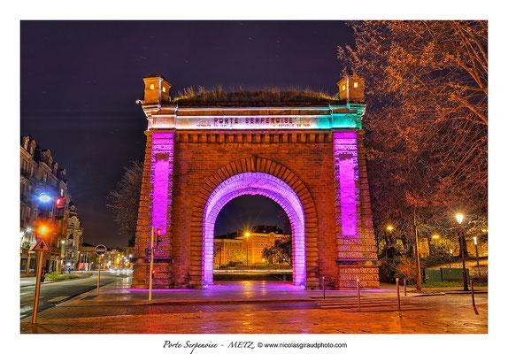 Porte Serpenoise - Metz © Nicolas GIRAUD