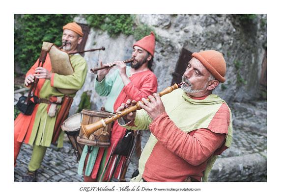 CREST Médiévale - Vallée de la Drôme  © Nicolas GIRAUD