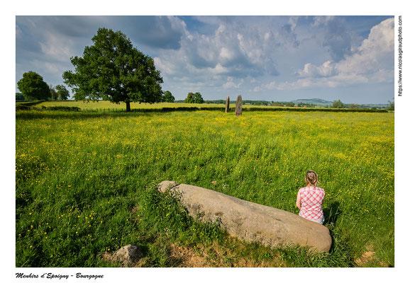 Menhirs d'Epoigny - Saône et Loire © Nicolas GIRAUD