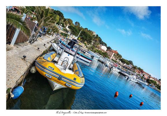 Port de Porquerolles © Nicolas GIRAUD