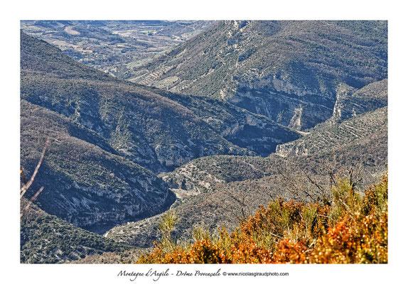 Vallée de l'Eygues - Drôme Provençale © Nicolas GIRAUD