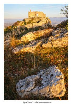 Crussol - Ardèche © Nicolas GIRAUD