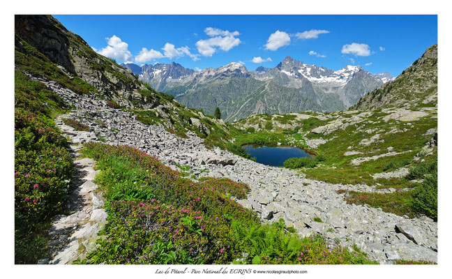 Lac Sebeyras - Parc des Ecrins - Dauphiné © Nicolas GIRAUD