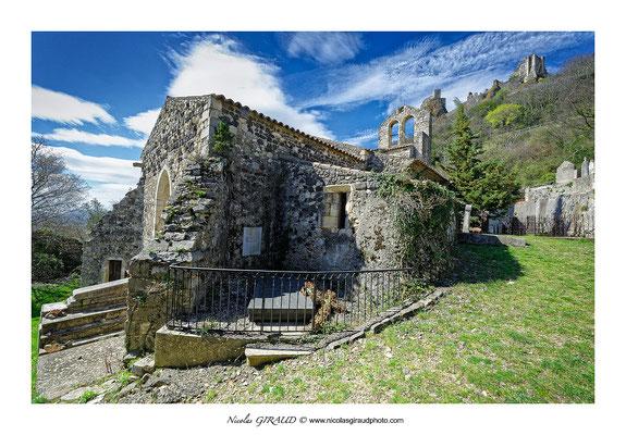 Chapelle St Ange - Rochemaure - Vallée du Rhône © Nicolas GIRAUD
