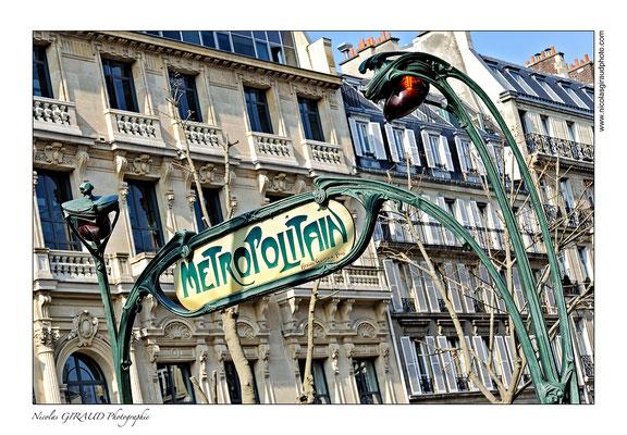 Paris Metro © Nicolas GIRAUD