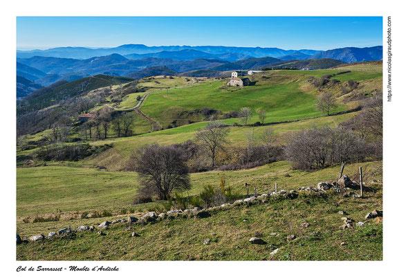 Col de Sarrasset - P.N.R. des Monts d'Ardèche © Nicolas GIRAUD