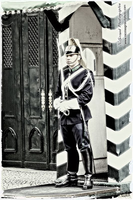 Garde Républicain - Chiado - Lisbonne © Nicolas GIRAUD