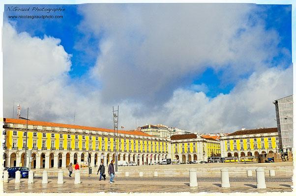 Praça do commercio - Lisbonne © Nicolas GIRAUD