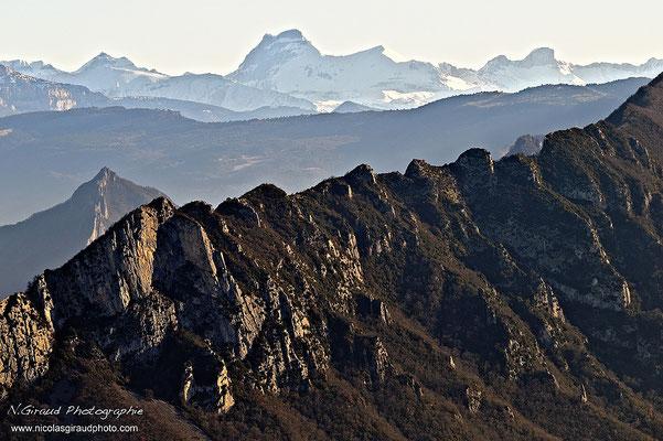 Massif de Saoû & Dévoluy © Nicolas GIRAUD