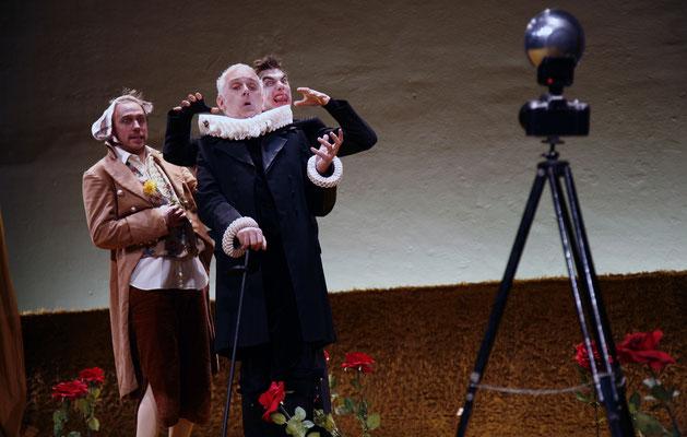"""mit Max Merker und Stefan Lahr in """"Was ihr wollt"""""""