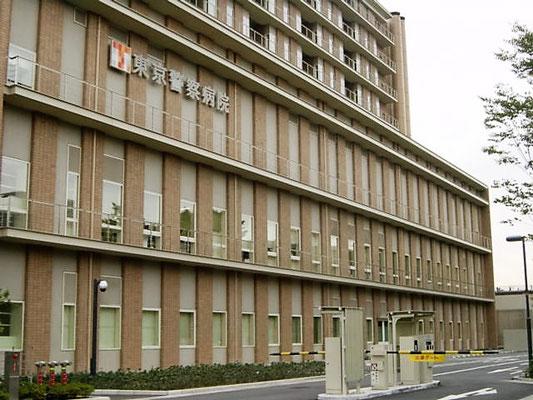 東京都中野区(東京警察病医院) ; 2007年11月設置 ; ワイヤーテンド