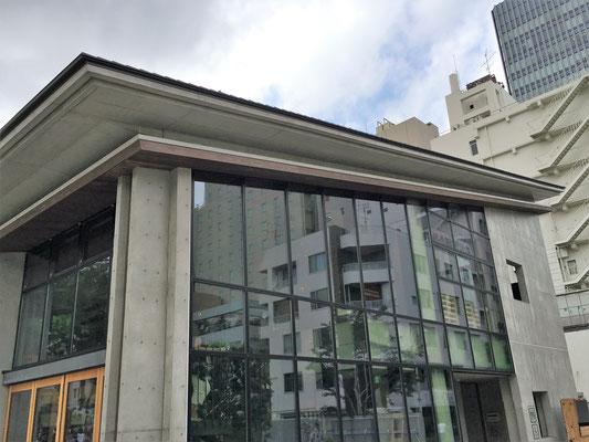 東京都豊島区 (南池袋公園);2016年5月設置;アルティマ防鳥ワイヤー
