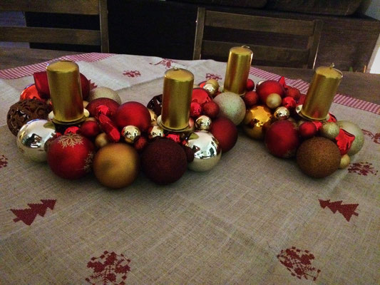 Adventskranz mal anders
