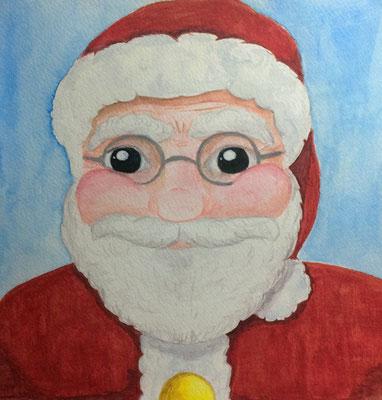 Frohe Weihnachten - Happy Christmas - Weihnachtsmann - Santa Claus
