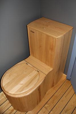 Gîte équipé de toilettes sèches