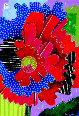 flor para el olvido