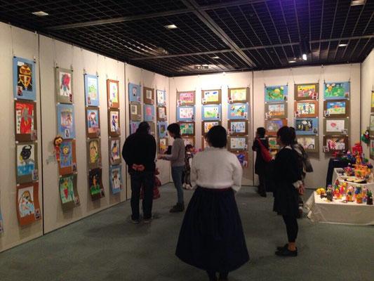 韓国の子供達のエリア