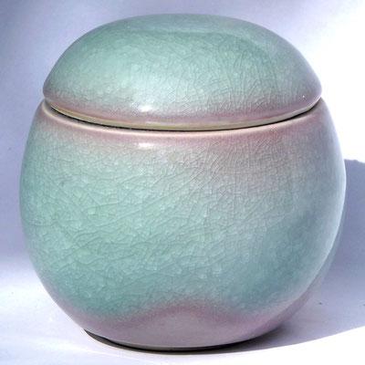 Boîte en porcelaine avec émail céladon