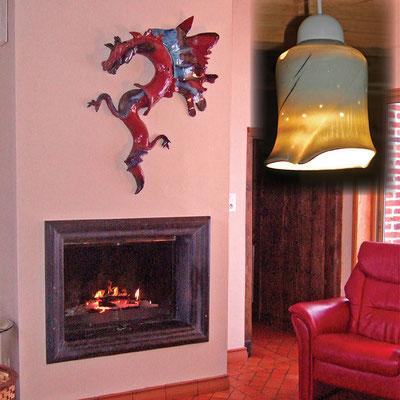Dragon de Feu, résidence privée Dunkerque, 1,20m, 2010