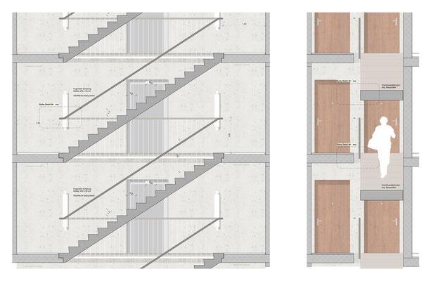 Detailplan Treppenhaus