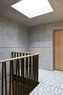 Treppenhaus Attika, Bild © Roman Pulvermüller