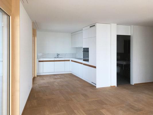 offene Küche 2-Zimmer-Wohnung