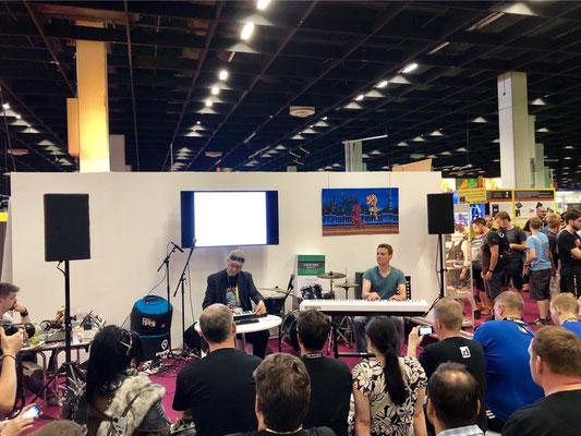Retro-Stand, Chris Hülsbeck Männerquatsch Podcast #33 (Ausflug: Gamescom 2018, Sheldon geht, Picard kommt)