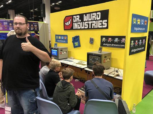 Dr. Wuro Industries, Männerquatsch Podcast [Sonderfolge #04] Gamescom 2018: Der Retro Rundgang mit allen Ausstellern.