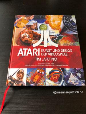Wir sprechen über Atari: Kunst und Design der Videospiele in Männerquatsch Podcast Folge #42 (Goldene Wii der Queen, Metroid Prime 4, Ghostbusters 3)