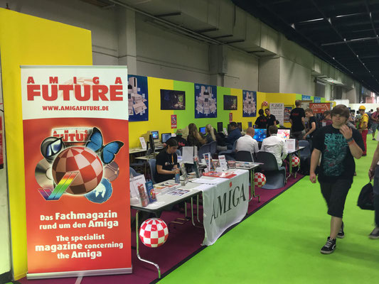 Amiga Future Stand, Männerquatsch Podcast [Sonderfolge #01] Gamescom 2017 Interviews