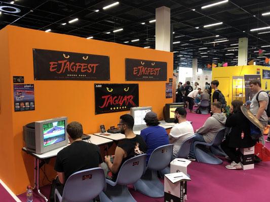 ejagfest - European Atari Jaguar Festival Stand, Männerquatsch Podcast [Sonderfolge #04] Gamescom 2018: Der Retro Rundgang mit allen Ausstellern.