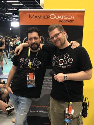 In Sonderfolge #12 des Männerquatsch Podcast berichten wir aus der Retro Area von der Gamescom 2019.