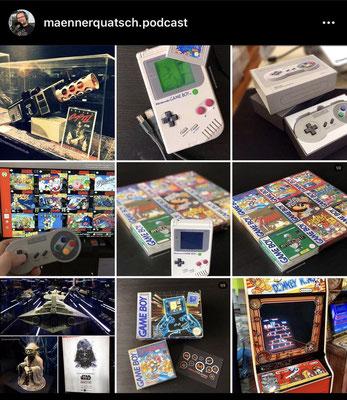 Die beliebtesten Bilder auf unserem Instagram Account: maennerquatsch.podcast