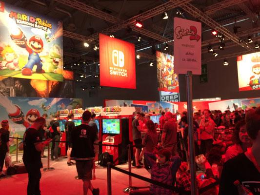 Nintendo-Stand, Männerquatsch Podcast #09 (Ausflug: Gamescom 2017)