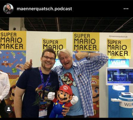 Der Männerquatsch Podcast, auf der Gamescom in Köln.