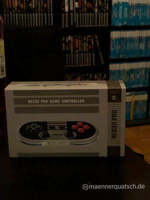 8bitdo NES30 Pro Game Controller, Männerquatsch Podcast #38 (Ausflug: ejagfest 2018, BlizzCon, Amico, Mega Sg)