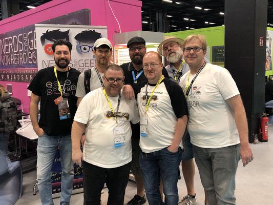 In Sonderfolge #12 des Männerquatsch Podcast berichten wir aus der Retro Area von der Gamescom 2019 und sprechen u.a mit Nerds and Geeks und German Remix Group.
