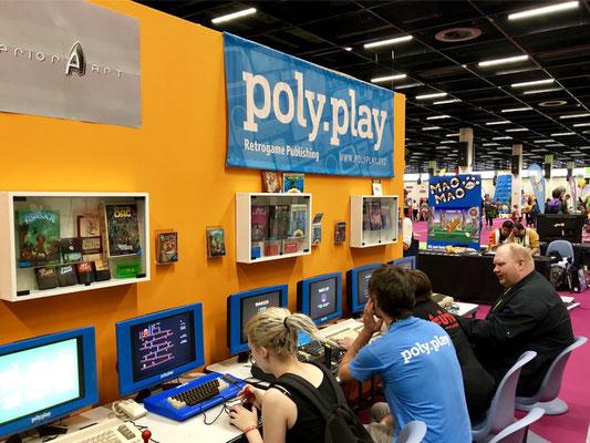Poly.Play Retrogame Publishing und Knights of Bytes, Männerquatsch Podcast [Sonderfolge #04] Gamescom 2018: Der Retro Rundgang mit allen Ausstellern.