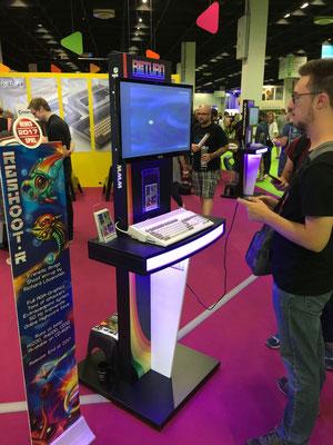 Reshoot R ein Homebrew Spiel für den Amiga,  Männerquatsch Podcast [Sonderfolge #01] Gamescom 2017 Interviews