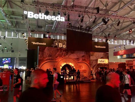 Bethesda-Softworks-Stand Männerquatsch Podcast #33 (Ausflug: Gamescom 2018, Sheldon geht, Picard kommt)