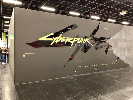 Cyberpunk-2077-Stand, Männerquatsch Podcast #33 (Ausflug: Gamescom 2018, Sheldon geht, Picard kommt)