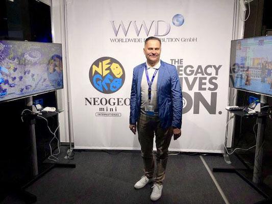 Neo Geo Mini - Worldwide Distribution GmbH, Männerquatsch Podcast [Sonderfolge #04] Gamescom 2018: Der Retro Rundgang mit allen Ausstellern.