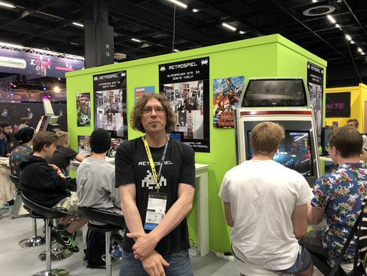 In Sonderfolge #12 des Männerquatsch Podcast berichten wir aus der Retro Area von der Gamescom 2019 und sprechen u.a mit Chris von Retrospiel.