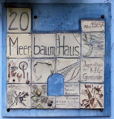 Gedenktafel am Haus, Siegmundshof 20, in Berlin-Hansaviertel