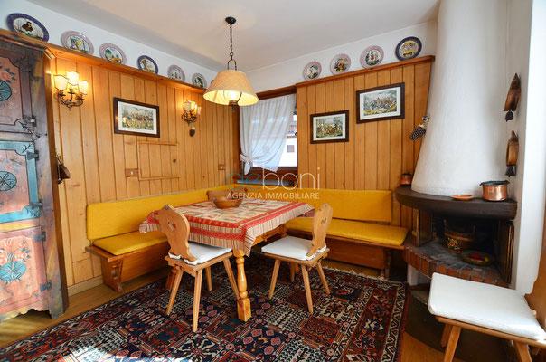 Soggiorno - Appartamento in affitto ad Alverà, Cortina d'Ampezzo