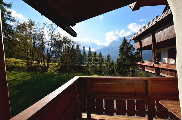 Poggiolo con vista - Appartamento in affitto ad Alverà, Cortina d'Ampezzo
